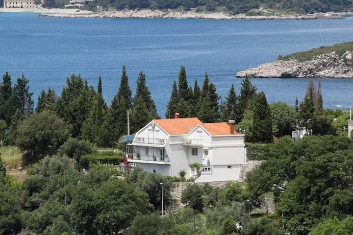 Three bedroom apartment with terrace and sea view Plat, Dubrovnik (A-2136-a) - Plat - อพาร์ทเมนท์