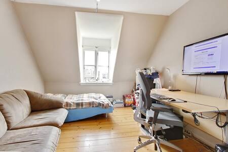 Rummelig værelse til mange formål - Nyborg