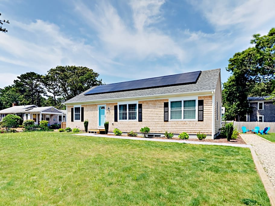 Welcome to South Yarmouth! This brand-new home is professionally managed by TurnKey Vacation Rentals.
