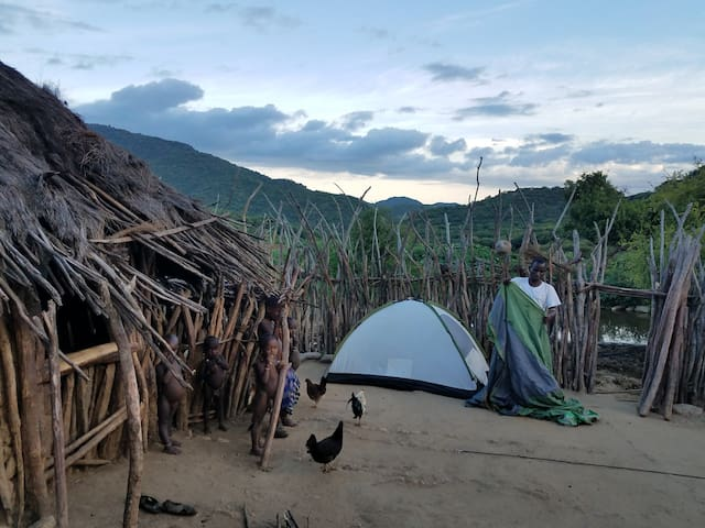 From our campsite you can book a community trekking!