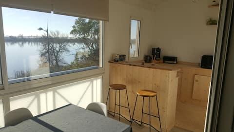 Appartement vue sur le Rhône