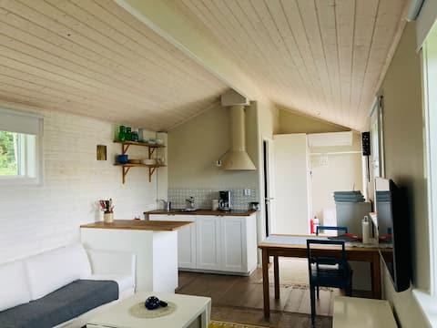 Cottage nuovo di zecca in paradiso all'aperto