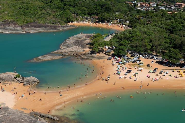 Quiet Beach in Brazil.