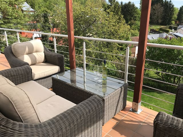 25m2 Suite in a farm house - 10min to Kirchberg