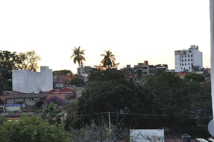 Vista de la terraza principal