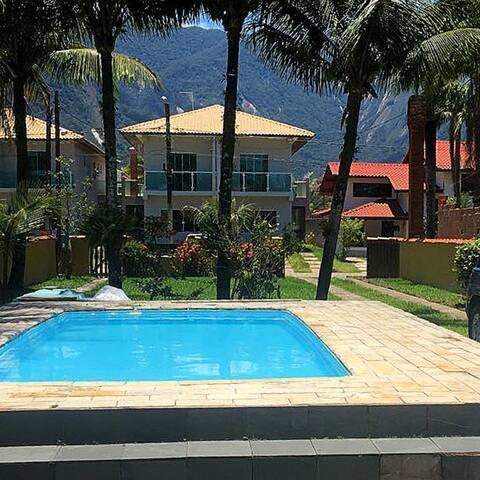 Casa Boraceia condomínio fechado Morada - piscina