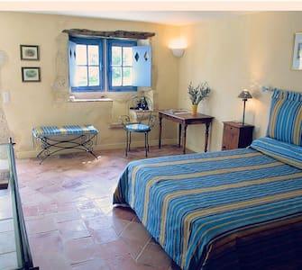 Chambre double privée dans hameau - Saint-Clar - Rumah