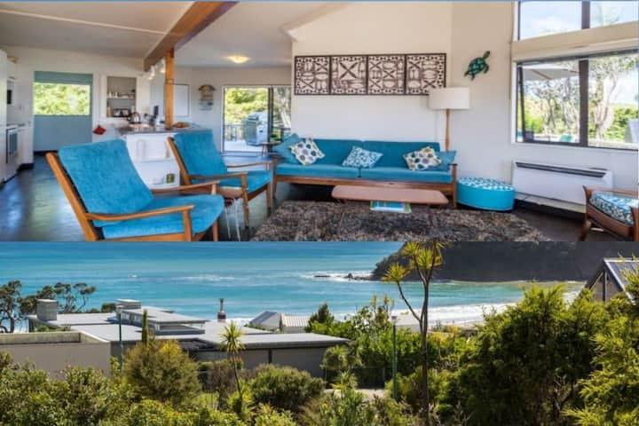 Langs Beach Home, 3 min walk to beach, seaviews