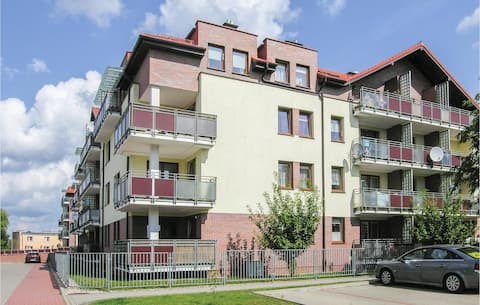 Holiday apartment with 1 bedroom on 43m² in Ostroda