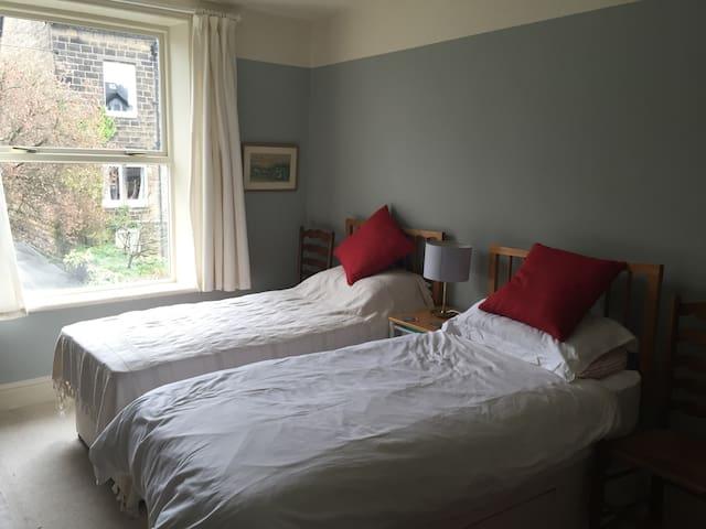 Quiet, comfortable double room