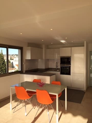 APPT SEA VIEW WITH SWIMMING POOL, TERRACE, GARAGE