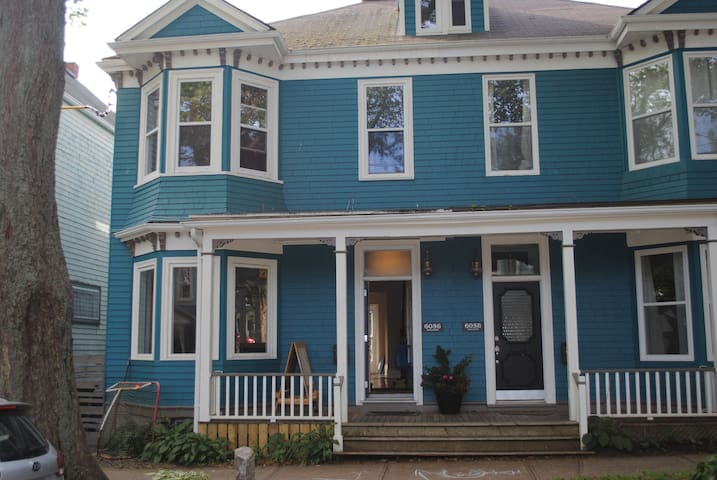The Blue House in Central Halifax