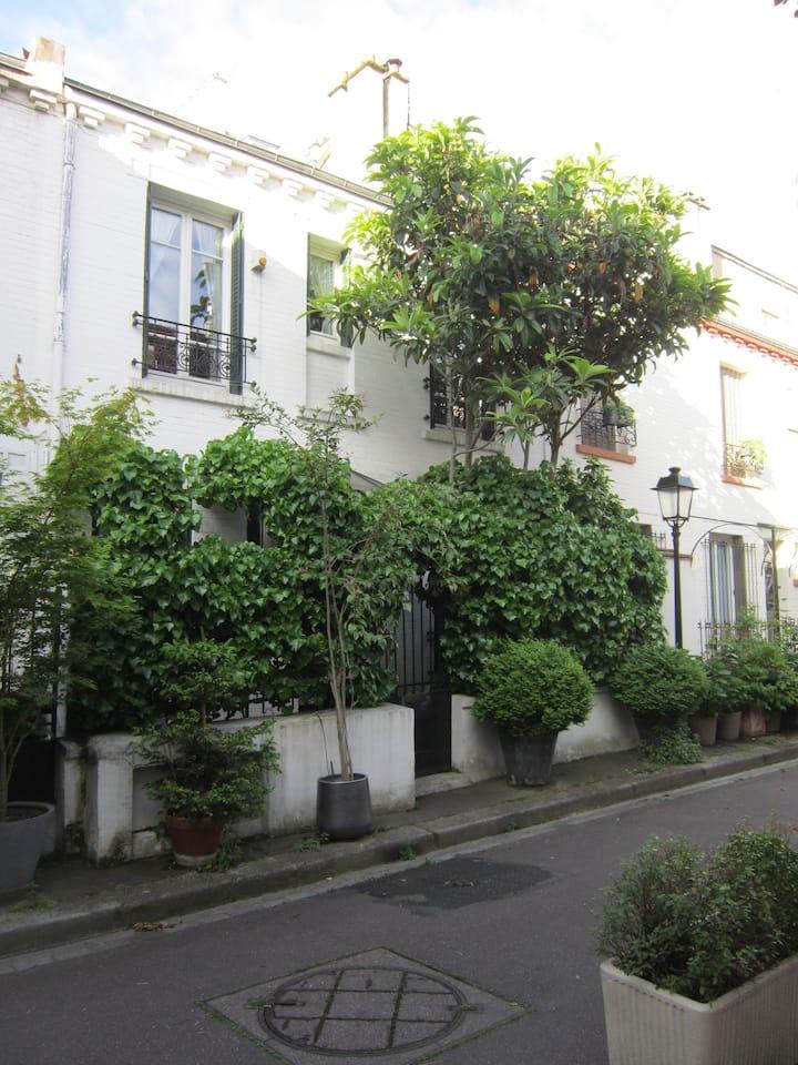 Charmante maison au coeur de Paris