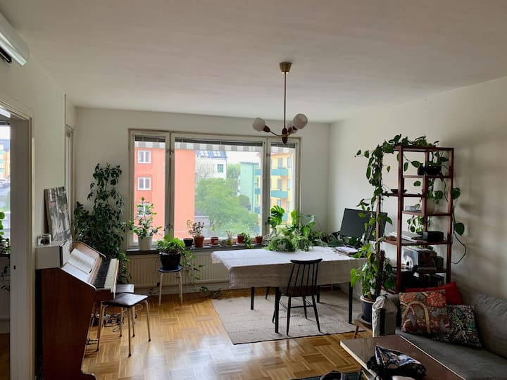 Cosy apartment in central Sundbyberg