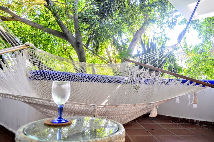 Enjoy the breeze from your terrace