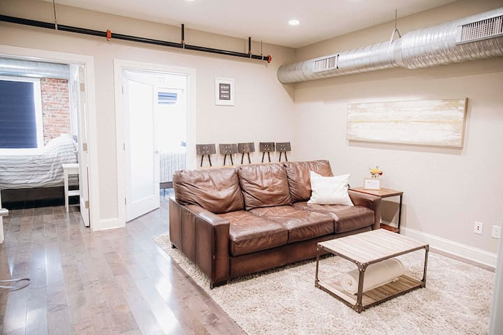 Modern Apartment over the Heart of Main Street!