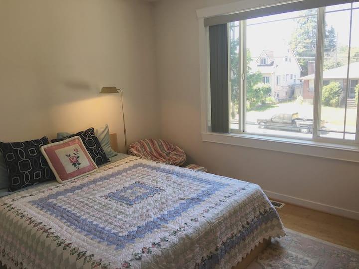 Bright Bedroom in West Seattle