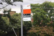 Bus connecting Pasco Vale & Broadmeadows Stations.