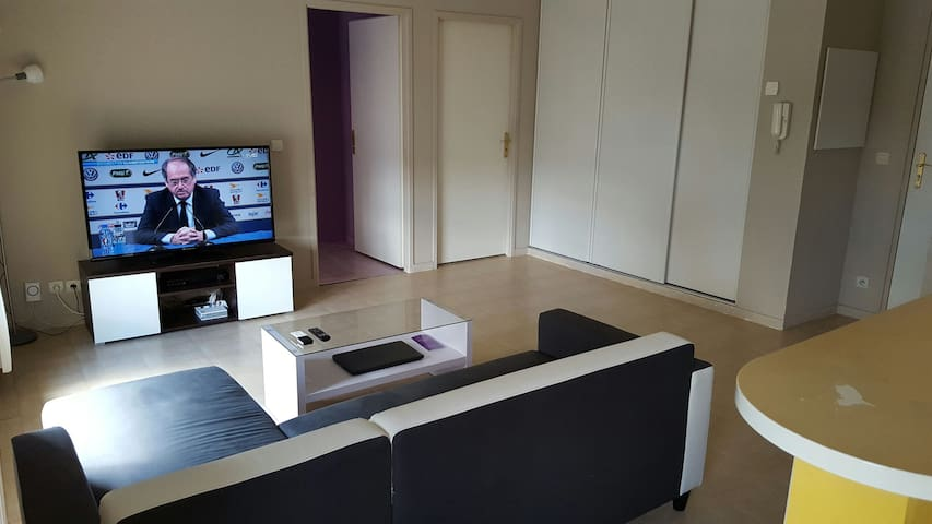 Bel appartement lumineux à 35mn de Paris - Pontoise - Apartment