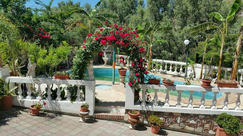 Appartamenti in villa con piscina - Bova Marina - Willa
