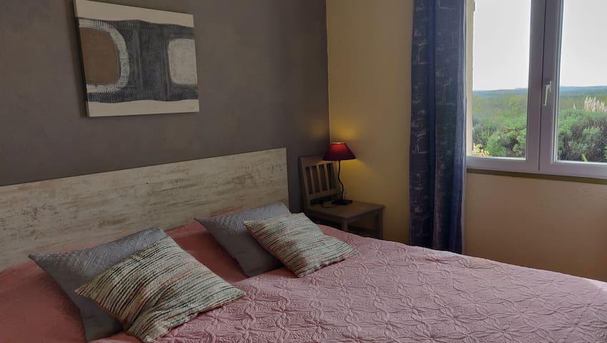 Domaine La Roseraie - La Truffière : Chambre double. Lits jumeaux (090-190)