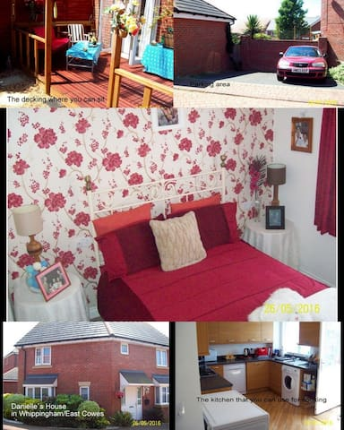 double room in modern house - East Cowes - Rumah