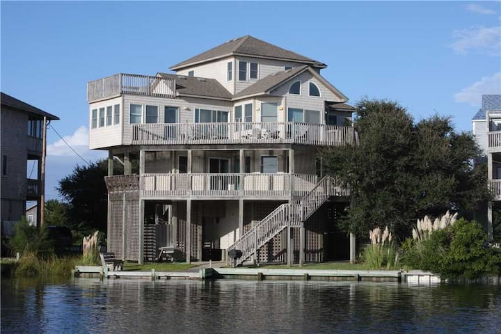 CANALFRONT in Frisco w/HotTub, RecRoom
