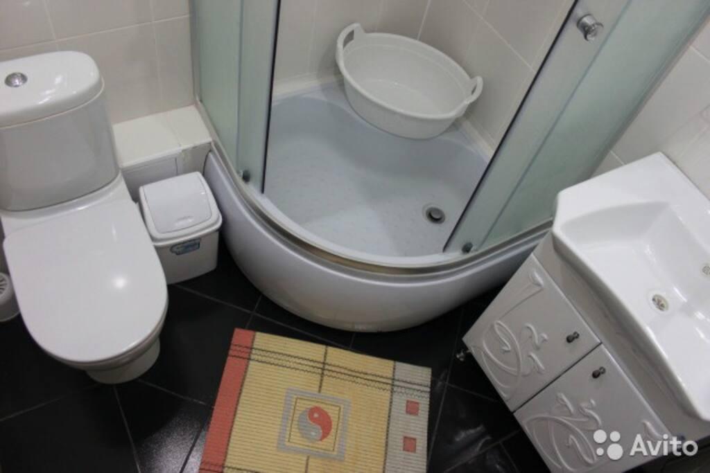 душевая-туалет