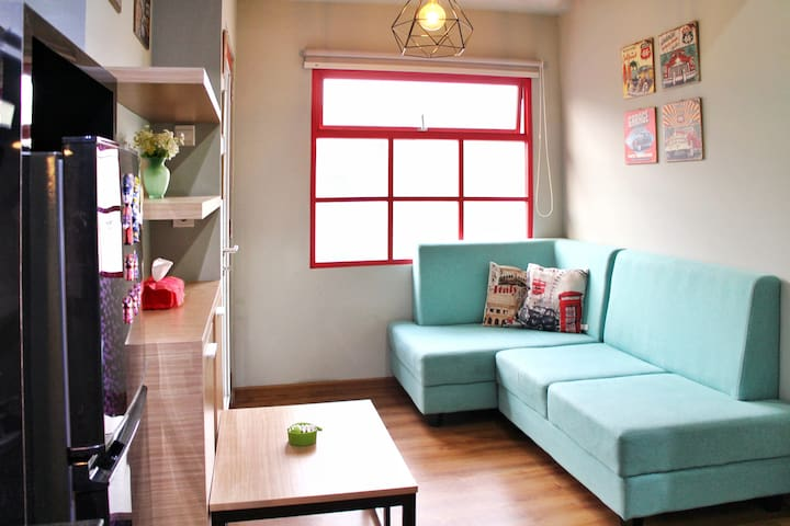 The Best Location 2 BR Apartment in Bandung