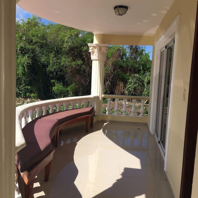 Balcon del Apto.