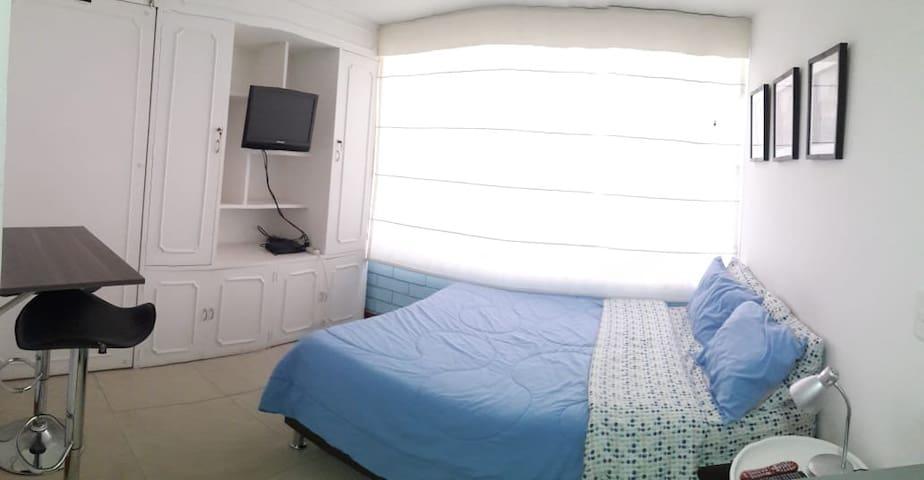Apartaestudio cedritos Bogotá Azul.