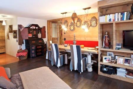 Cozy Chalet close S.Moritz + Ski/Snowboard Lessons - Samedan - Huis