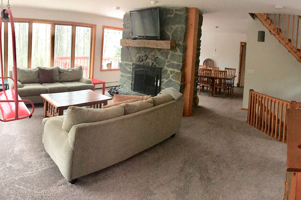 living room pictures windham ny spacious home for families with chalets 12496