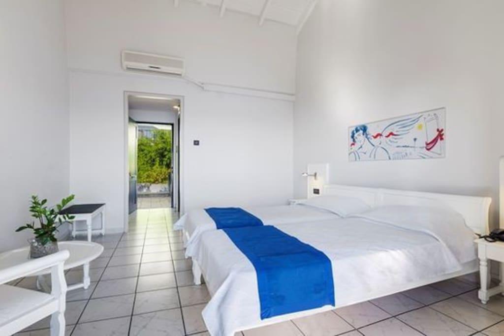 Skopelos Hotels, Twin Or Double Room Side Sea View