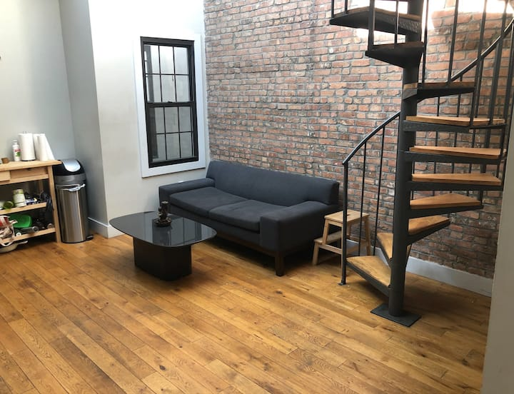 Cozy loft style zen sanctuary in Brooklyn
