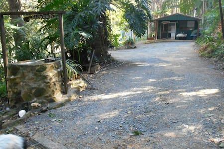The Secret Art Studio Rainforest Retreat Cabin