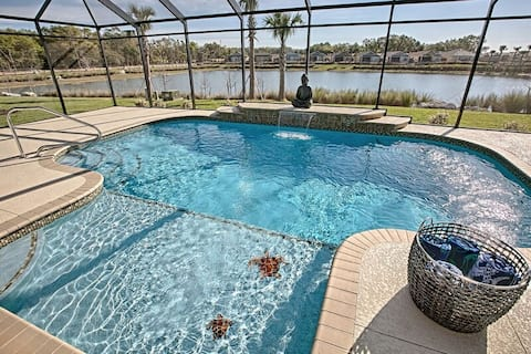 Fenney Waterview Retreat  w/Pool in The Villages