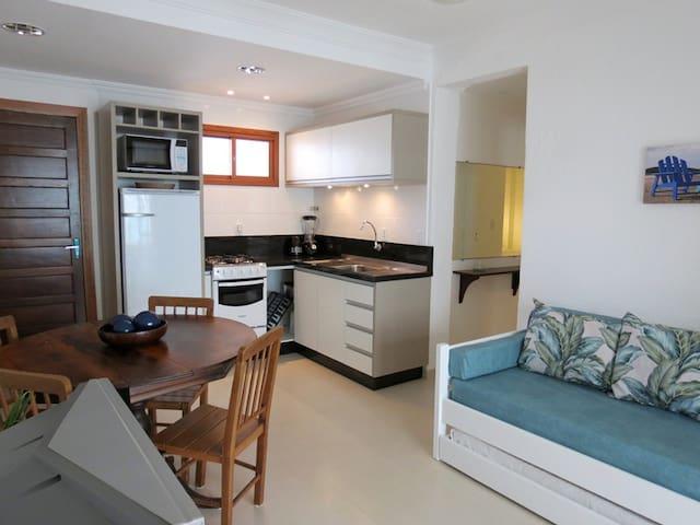 Lindo apartamento a 50m do mar! Centro Itapema