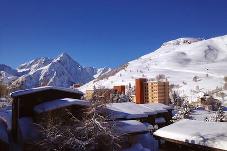Studio Les Deux Alpes saison ski - Mont-de-Lans
