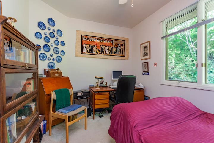 Nice comfortable room with a futon.. - Franklin - Hus