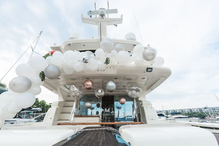 luxury yacht for party Max 25.豪华游艇party