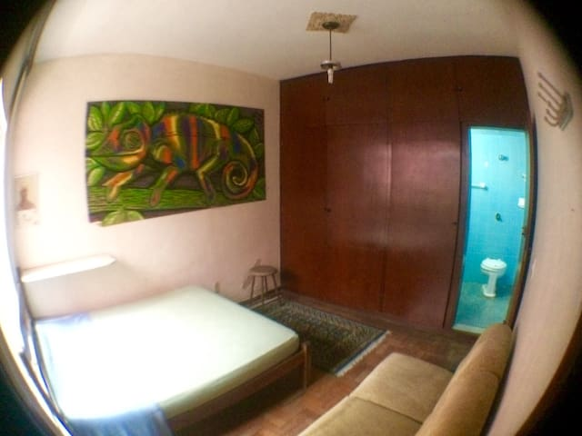 Quarto Individual - Belo Horizonte - Bed & Breakfast