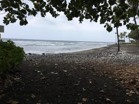 #18: Hør havet fra vores Kailua-Kona bungalow
