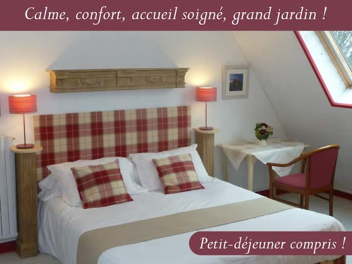 chambre St Malo, 3 épis, en baie du Mont St Michel