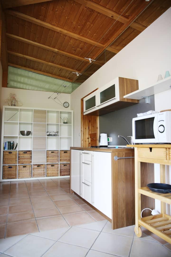 Traumhaftes Appartement im Grünen