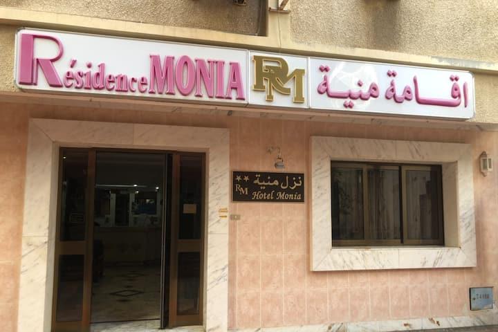 Hôtel Résidence Monia chambre double