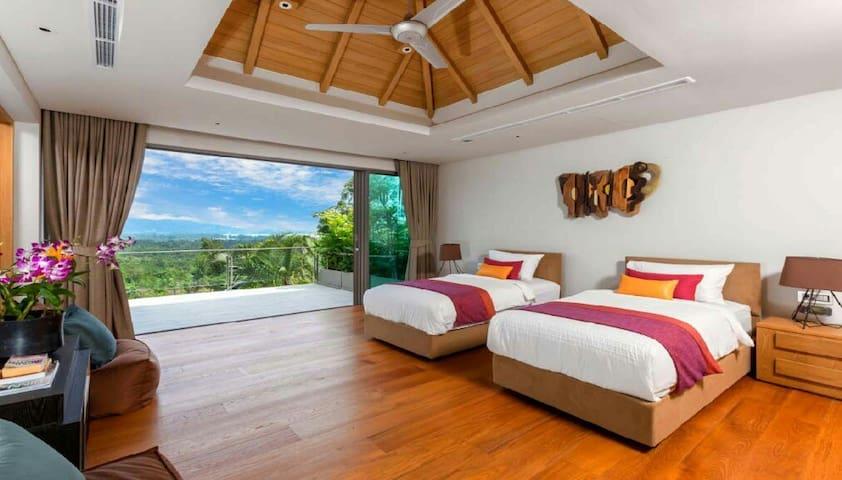 AKASHA - Stunning Sea View Villa with 7 Bedrooms - Choeng Thale - Villa
