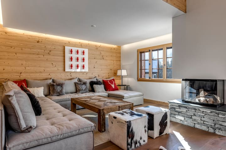 Saanen 3 bedroom modern bright and airy apartment