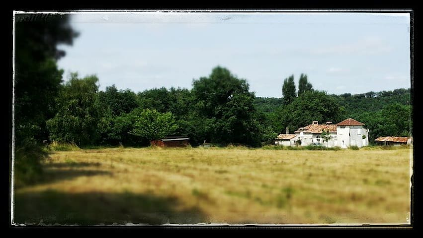 Maison de charme en pleine campagne - Sainte-Radégonde - Haus
