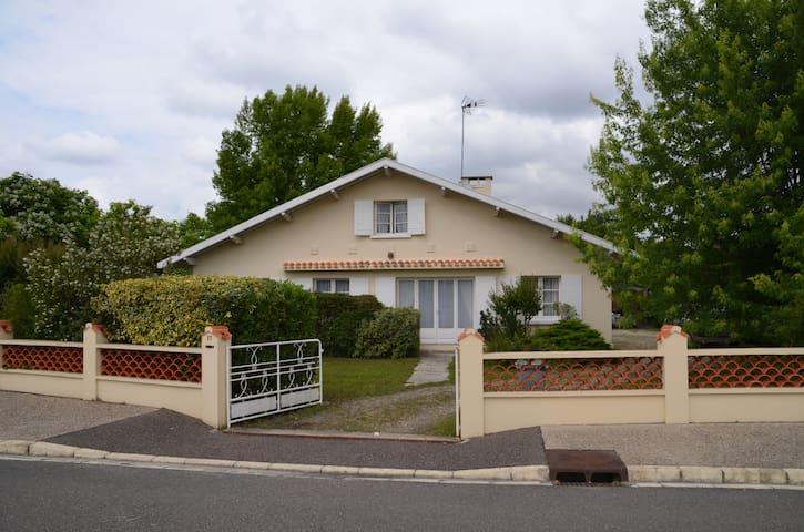 Maison au sein du vignoble de Margaux
